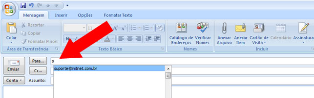 Contatos Outlook